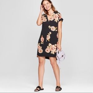 NWT A New Day floral black dress size M
